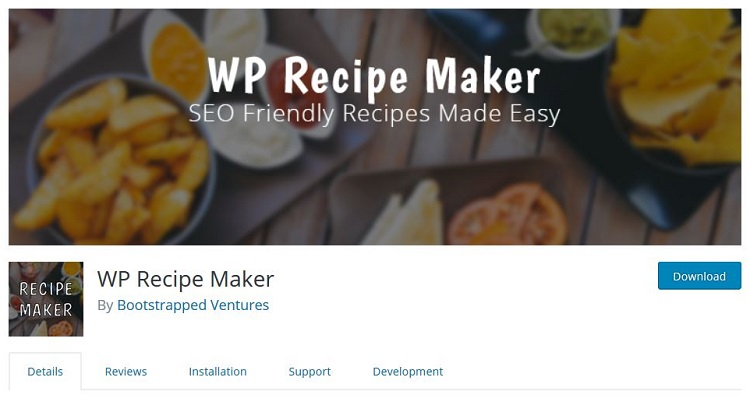 WP Recipe Maker for WordPress