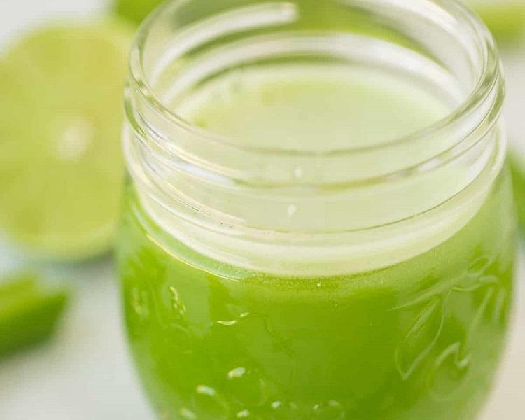 Easy celery juice