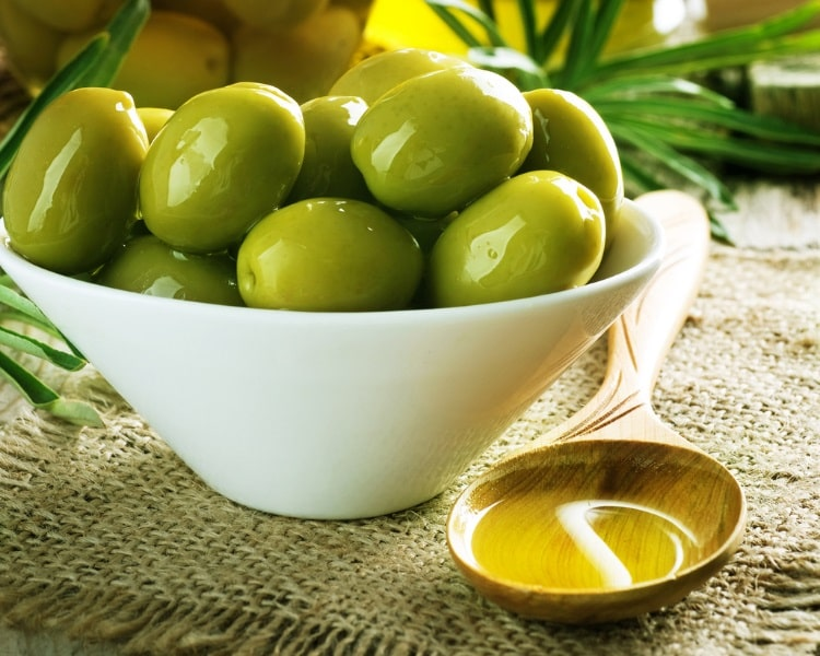 Oil made from Castelvetrano olives