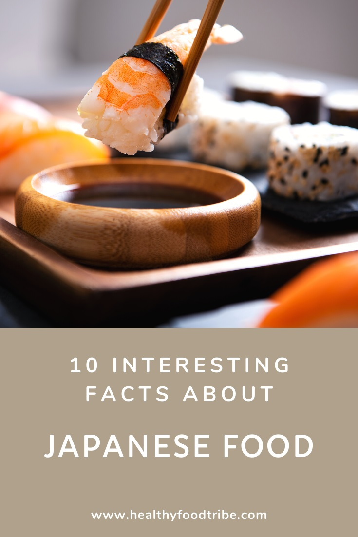 Interesting facts about Japanese cuisine