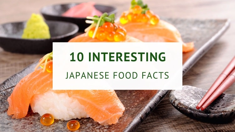 Japanese food facts and culture