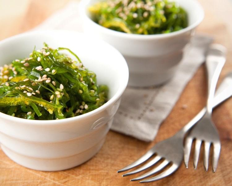 Delicious seaweed salad