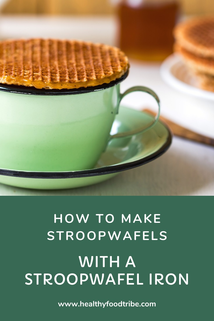 How to make stroopwafels with a stroopwafel iron
