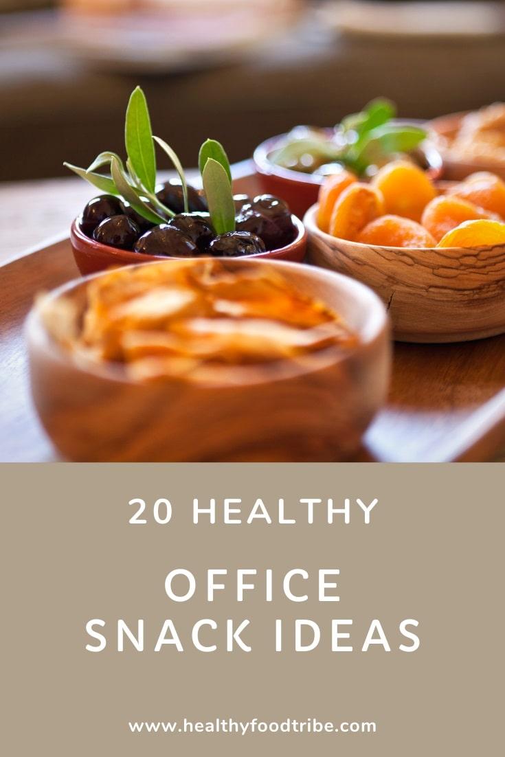Healthy office snack ideas