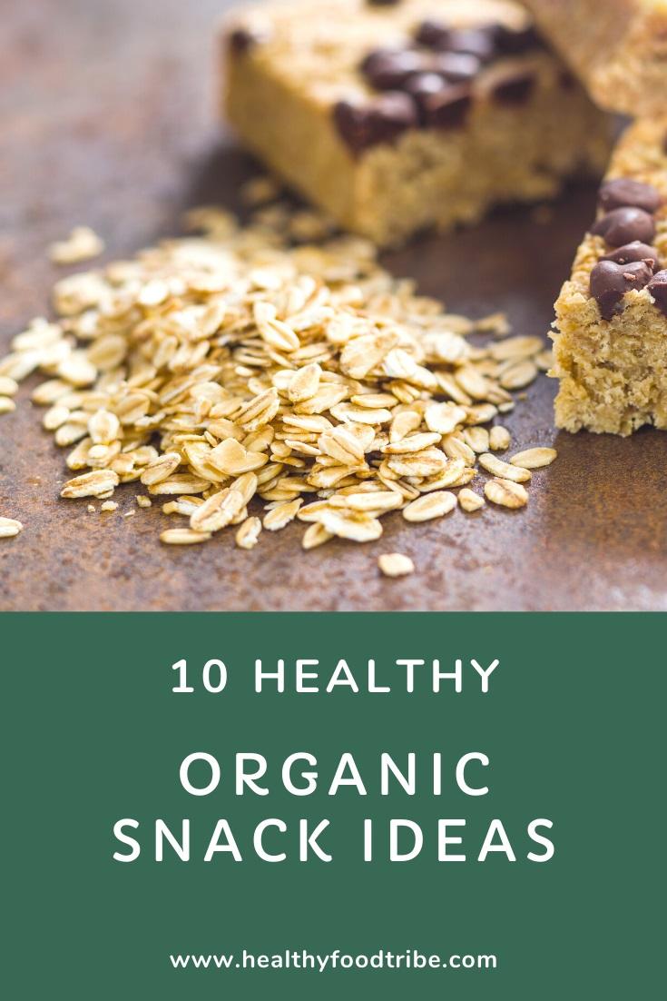 10 Healthy organic snack ideas