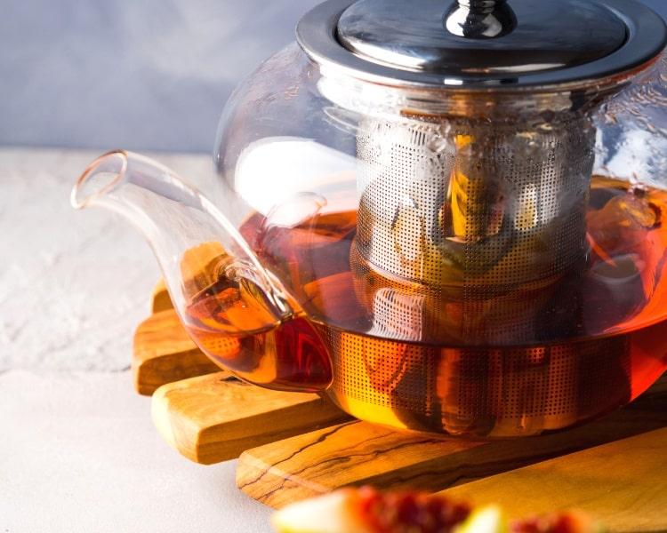 Rooibos tea pot