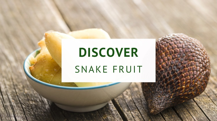 What is snake fruit, also known as salak?