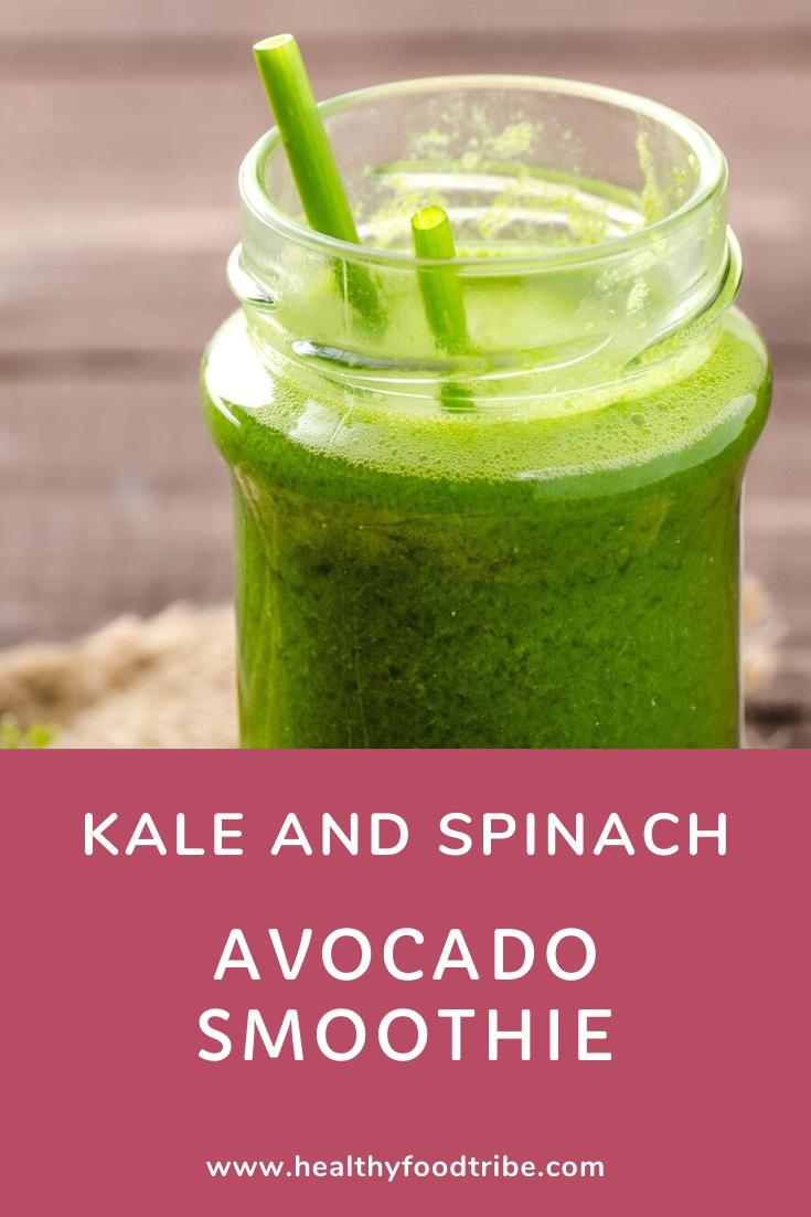 Kale spinach avocado smoothie recipe