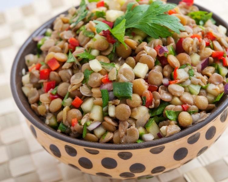 Lentils salad