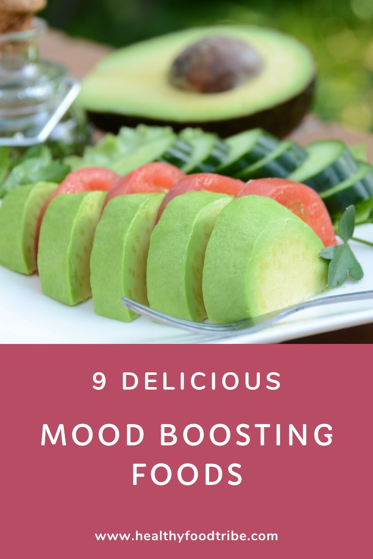 9 Delicious mood boosting foods